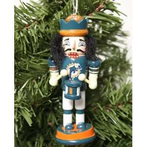 Miami Dolphins 2011 Nutcracker Christmas Ornament
