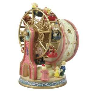 Musical Ferris Wheel Teddy Bear   Pink   Plays Memory