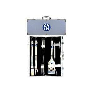 New York Yankees MLB 8 Piece Grill Set