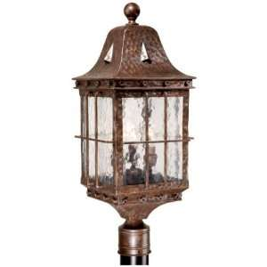 24.75 H Edinburgh Colonial Iron Outdoor Post Light