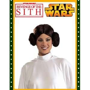 Princess Leia Costume Wig   One Size  Toys & Games