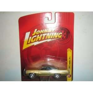 2011 Johnny Lightning R17 1969 Chevy Impala SS Light Gold