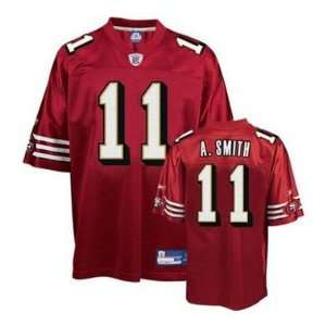 Reebok San Francisco 49ers Alex Smith Replica NFL Jersey