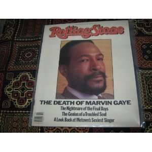 Rolling Stone Magazine May 10 1984 Issue 421 Marvin Gaye