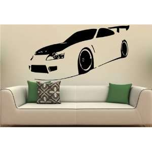 Wall MURAL Vinyl Sticker Car TOYOTA SUPRA S. 1457