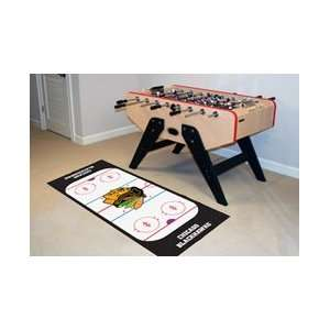 NHL Chicago Blackhawks Runner Area Rug