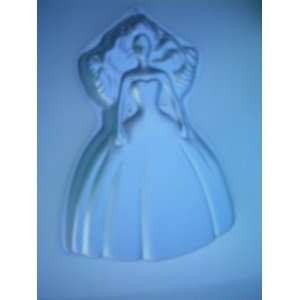 Wilton Dream Bride Barbie Birthday Cake Pan w/ Instructions    as