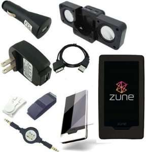 Zune HD 16GB / 32GB Series  Player Black Silicone Skin Case