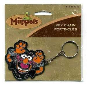 The Muppets ANIMAL Metal Key Chain Automotive