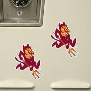 Arizona State Sun Devils 6 Pack Stik able Party Decals