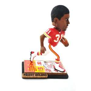 Kansas City Chiefs Official NFL #31 Priest Holmes ticket base action