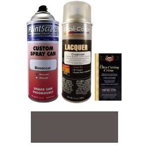 12.5 Oz. Dark Shadow Gray Metallic (cladding) Spray Can Paint Kit for