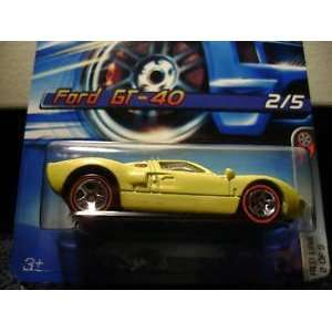 Hot Wheels Ford GT 40 Red Line #97 (2006) Everything