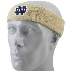 adidas Notre Dame Fighting Irish Gold Basic Logo Headband
