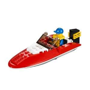 LEGO CITY SPEED BOAT BUILDING TOY #4641 34 PIECES BRAND NEW IN BOX NO