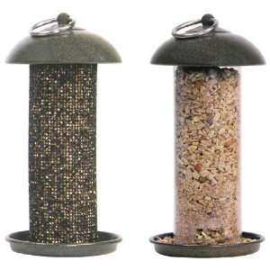 Easy Clean Seed & Thistle Bird Feeder Set   Twist off Top
