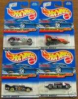 HOT WHEELS CAR TOON FRIENDS SERIES COMPLETE SET OF 4