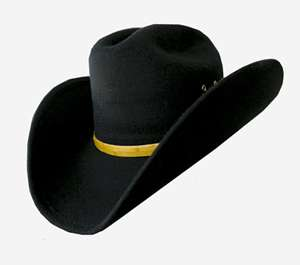 Black Felt Trendy Taco Cowboy Hat, Western Wear, Rodeo,