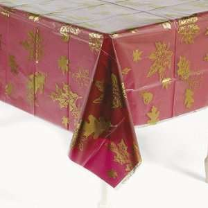 Fall Leaves Table Cover   Tableware & Table Covers Health