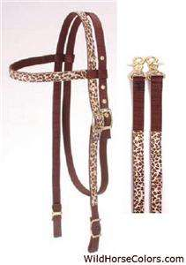 Headstall Bridle with Matching Reins NEW HORSE TACK Gift