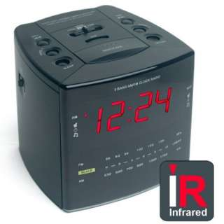 True Nightvision Hidden Camera Alarm Clock by Brickhouse