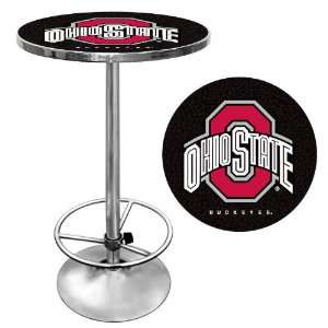 Quality The Ohio State University Pub Table   Black