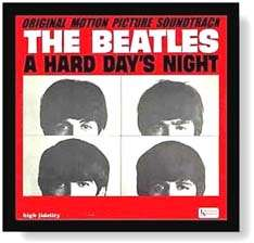 LP Record Album Cover Display Frame   Black