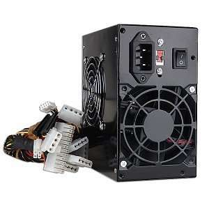 Power Pure Black 480 Watt 20+4 pin ATX Power Supply with SATA